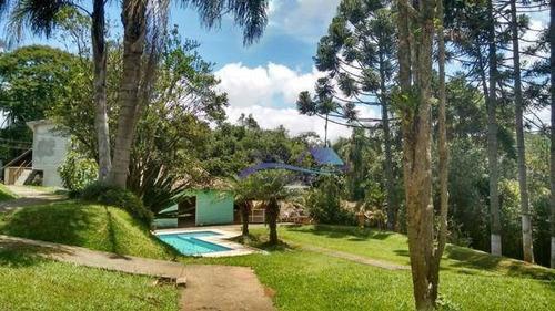 Chácara Com 10 Dormitórios À Venda, 11600000 M² Por R$ 1.090.000,00 - Vila Moraes - Mogi Das Cruzes/sp - Ch0001