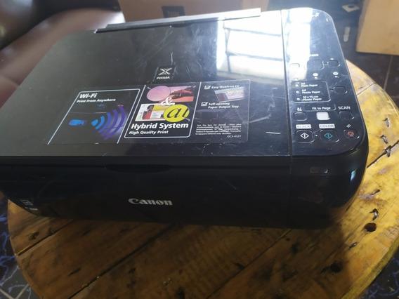 Impressora Canon Mp499 Pixma (precisa De Cartuchos)