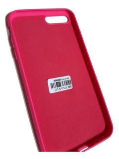 Capa Capinha Case iPhone 7plus/8plus Aveludada Rosa