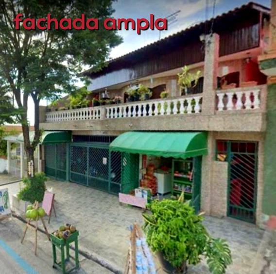 Casa + Salão Comercial Osasco Quitaúna - Cas00234