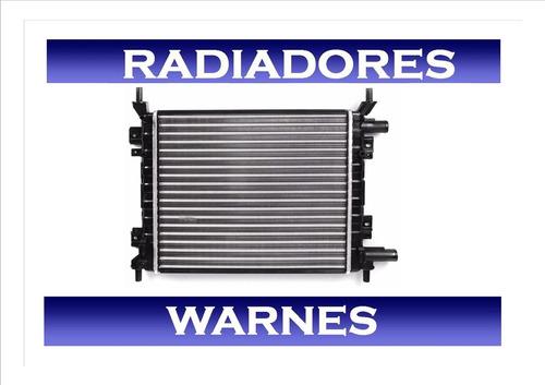 Radiador Ford Ka 99/07  Zetec/rocam 1.0/1.6