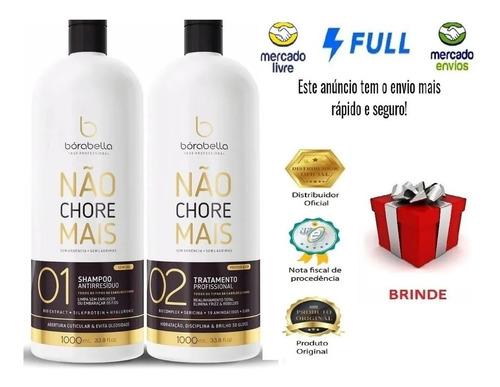 Borabella Progressiva Não Chore Mais 19 Aminoacidos 2x1l Pro