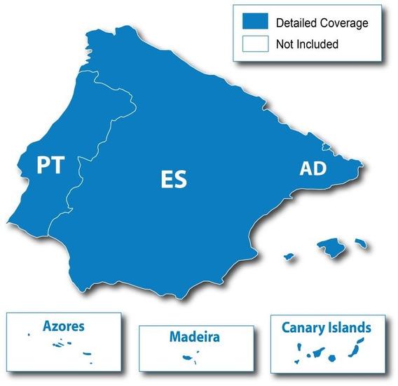 Nova Atualização Mapa Garmin Espanha E Portugal 2019-20