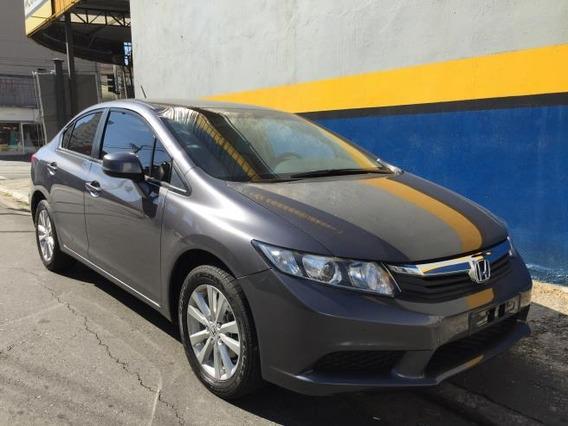Civic 2016 Lxs Cinza Unico Dono Muit Novo Periciado Winikar