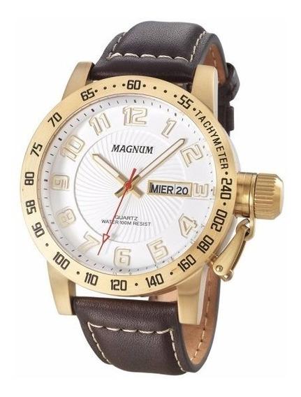 Relógio Masculino Magnum Oversized Ma33139b Original Novo