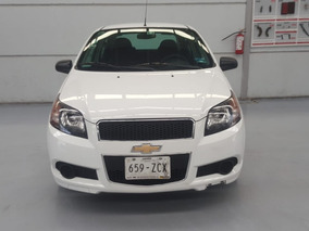 Chevrolet Aveo 1.6 Ls Aa Radio Airbag At 2017 Financiado