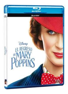 Blu-ray - El Regreso De Mary Poppins