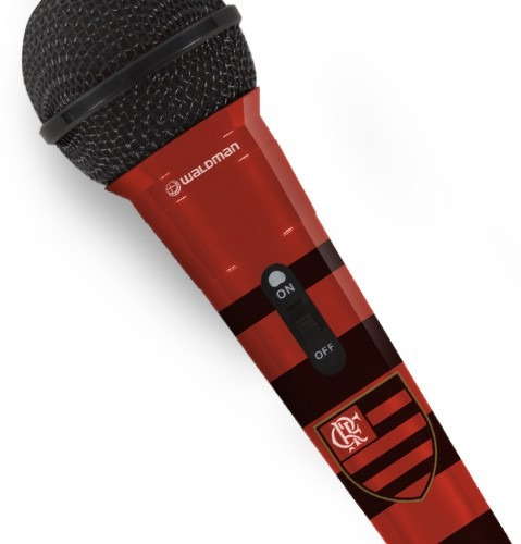 Microfone Waldman Flamengo 08777 Original