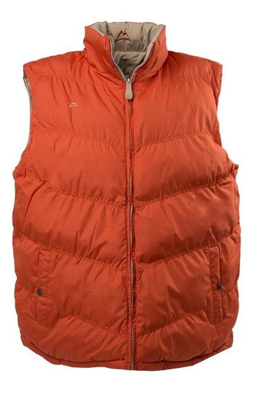 Chaleco Icy Denver Doble Vista Ve120517-1 Orange/kakhi