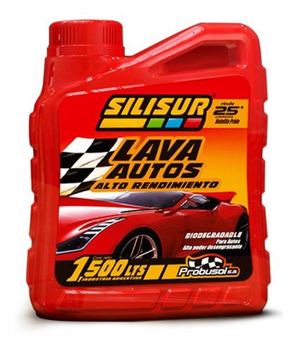 Silisur Lava Autos Premium 1500cc Alto Rendimiento