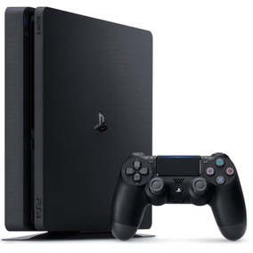 Console Playstation 4 Ps4 Slim 500gb Com 1 Controle
