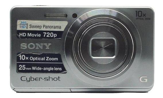 Câmera Sony Cybershot Dscw690 Prata Pronta Entrega