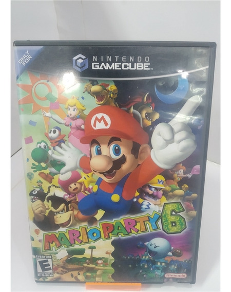 Mario Party 6 (seminovo) - Game Cube