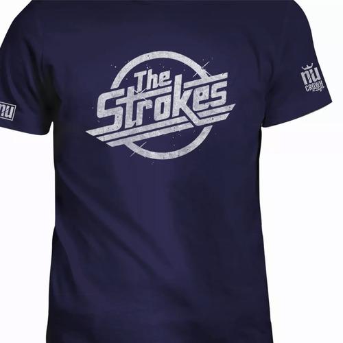Camisetas The Strokes Estampadas Indie Rock Punk Eco