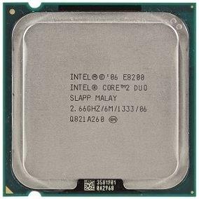 Processador Cpu Core 2 Duo E8200 Lga 775 Temos E8400 E7500 ¨