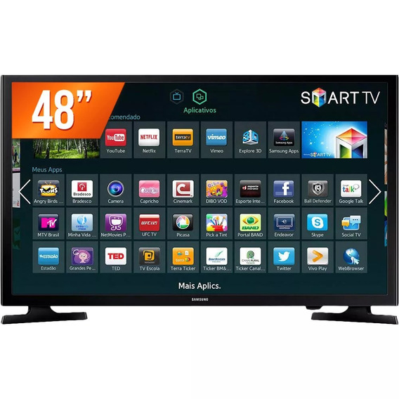 Tv Samsung 48j5200, Smartv, Wifi, Netiflix,youtube,zero,
