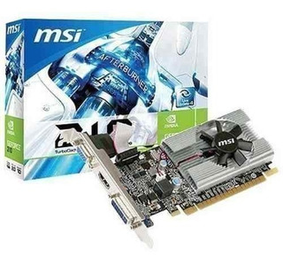 Placa Video Msi Gt210 1gb Ddr3 Lp 912-v809-2808 Hdmi Vga