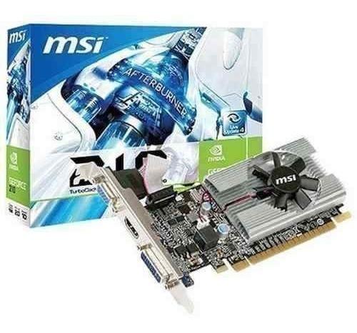 Placa Video Msi Gt210 1gb Ddr3 Lp 912-v809-2808 Hdmi Vga