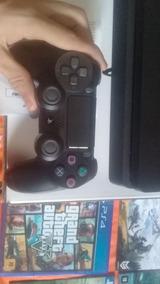 Ps4 Completo Com Jogos E Um Controle