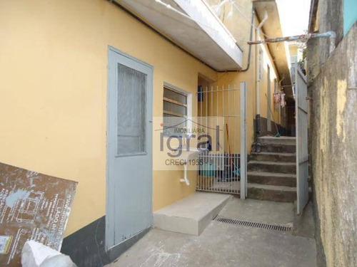 Casa Com 1 Dormitório Para Alugar, 40 M² Por R$ 700,00/mês - Vila Guarani (zona Sul) - São Paulo/sp - Ca0472