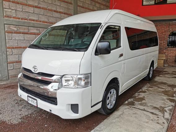 Toyota Hiace Gl 15 Pasajeros Modelo 2014