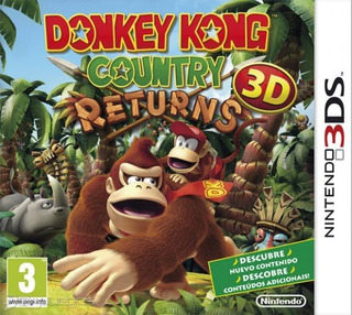 Donkey Kong Country Returns 3ds / 2ds Nuevo Sellado