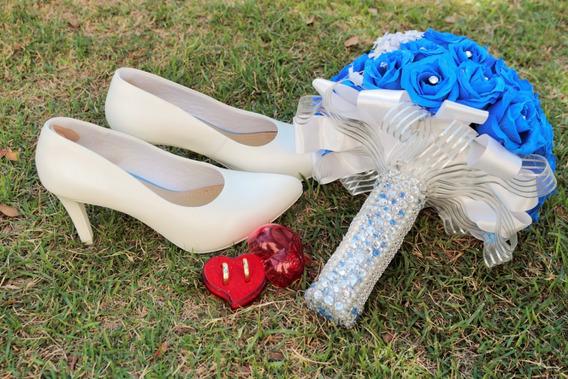 Sapato De Noiva Usaflex