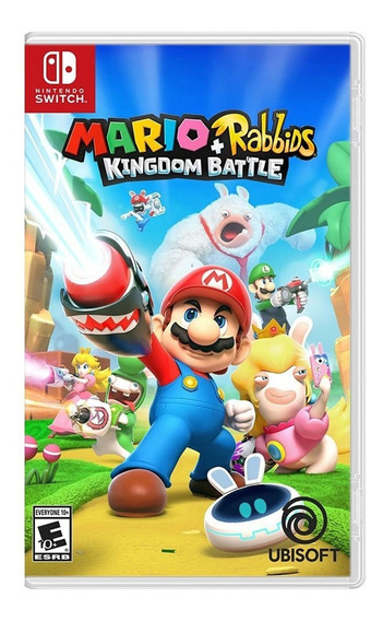 Juego Mario + Rabbids Kingdom Nintendo Switch Ibushak Gaming
