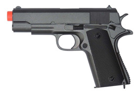Pistola De Airsoft Spring Cyma Zm04 1911 Baby - Toy