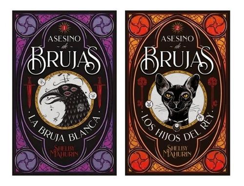 Asesino De Brujas 1 Y 2 - Shelby Mahurin - Puck - 2 Libros *