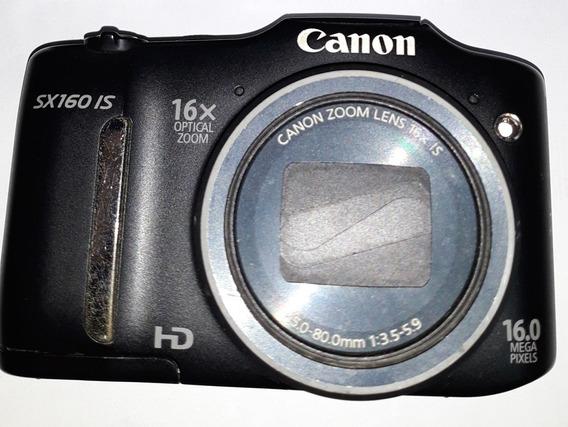 Camera Canon Sx160is Não Liga Sem Acessorios