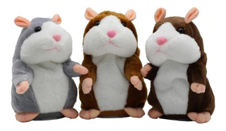 Hamster De Peluche Que Habla Repite Lo Que Escucha Juguete