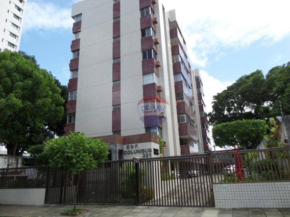 Locação De Apartamento Com 3 Quartos - Madalena - Com Taxas Inclusas - Ap0698