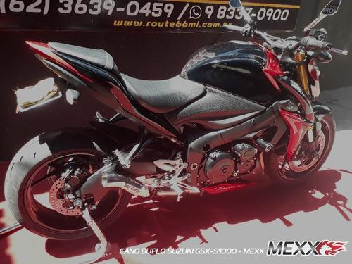 Escapamento Esportivo Gsx S1000  Ponteira Gp Cod.154