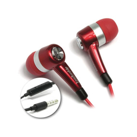 Fone De Ouvido Com Microfone Earphone To Go C/microf.red Lea
