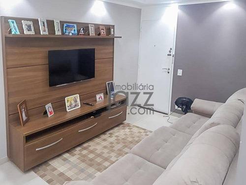 Apartamento Com 3 Dormitórios À Venda, 72 M² Por R$ 320.000,00 - Jardim Pacaembu - Campinas/sp - Ap5047