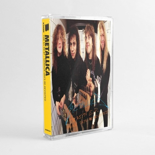Metallica - 5.98 Ep Garage Days Cassette En Stock!!