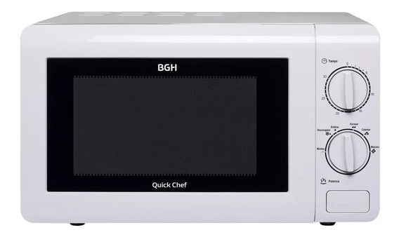 Microondas BGH Quick Chef B120M16 blanco 220V
