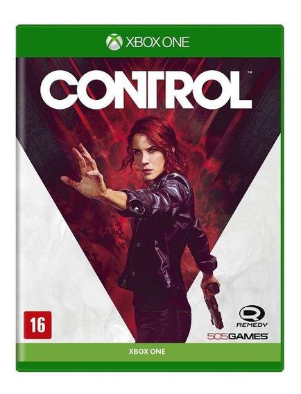 Control Xbox One Mídia Física Novo Lacrado