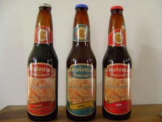 Botellas Cerveza Colonia Esperanza Sta Fe