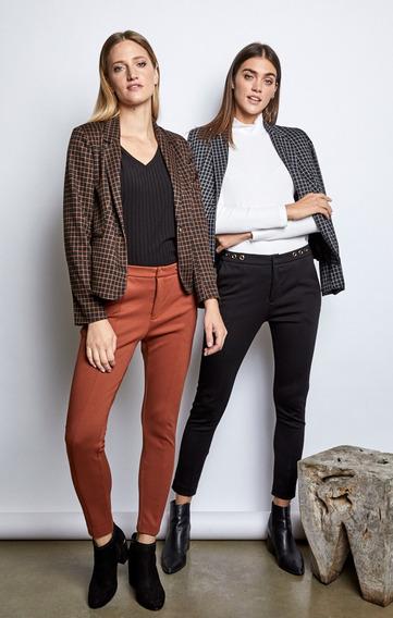 Pantalon Eva Mirta Armesto Tramado Premium