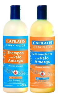 Combo Capilatis Evita Piojos Shampoo + Acondicionador X500ml