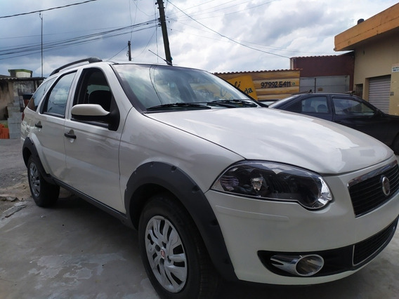 Fiat Palio Weekend 2010 1.8 Trekking Flex 5p