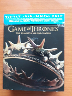 Game Of Thrones: The Complete Second Season (blu Ray & Dvd)