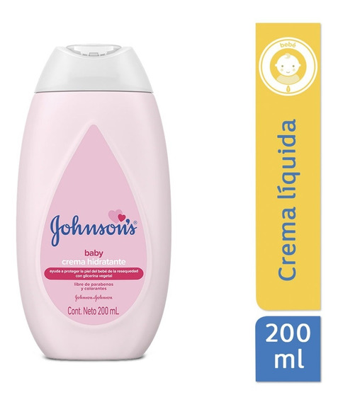 Crema Líquida Hidratante Bébe Regular 200 Ml Johnson´s Baby