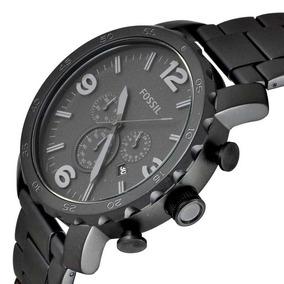 Relógio Fossil Jr1401/4pn Nate Chrono Original Preto 12x S/j