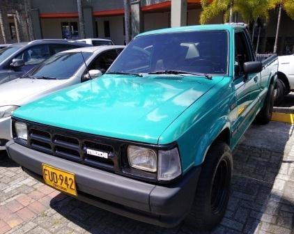 Camioneta Mazda Cs B2000 Modelo 1988, Motor Reparado.