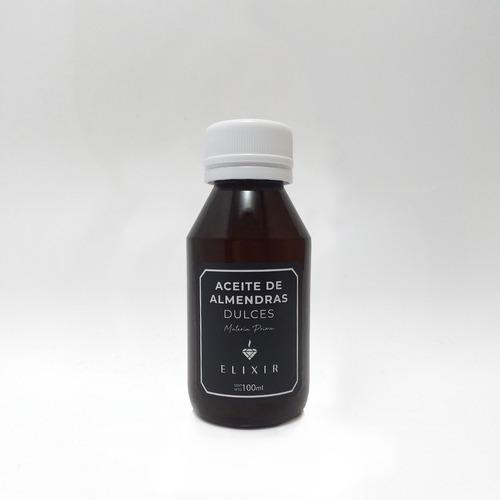 Aceite De Almendras 100ml Elixir Materia Prima Caba