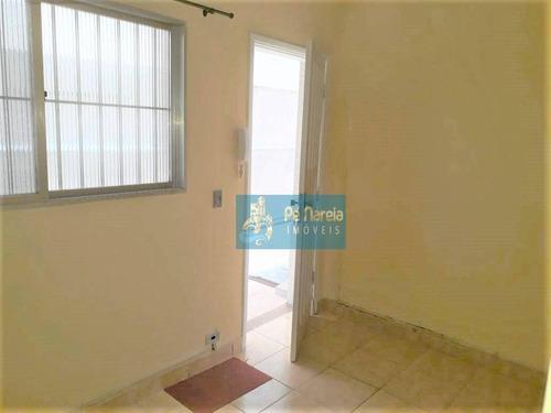 Imagem 1 de 15 de Apartamento Com 1 Dormitório À Venda, 40 M² Por R$ 175.000,00 - Canto Do Forte - Praia Grande/sp - Ap0199