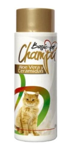 Champú Para Gatos Basic-pet 250ml. Pelo Suave!!